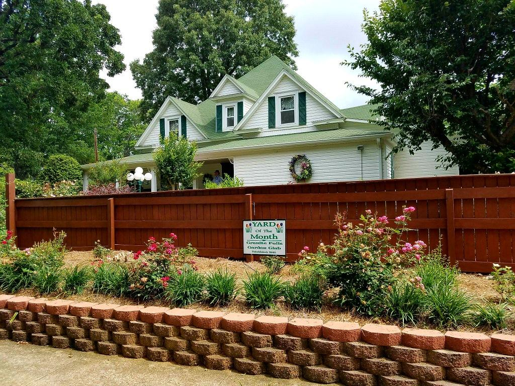 Granite Falls Garden Club Yard of the Month for May Awarded ...